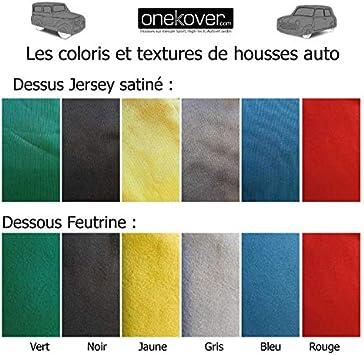 onekover Housse sur Mesure Citro/ën 2cv Premium Noir