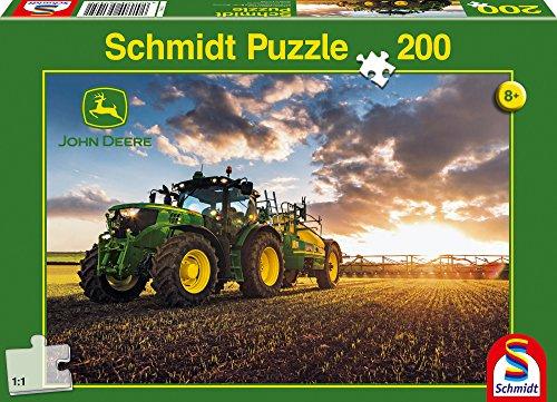 Schmidt John Deere Tractor with Slurry Tanker Jigsaw Puzzle (200-Piece)