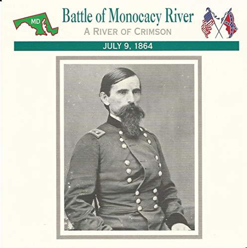 (1995 Atlas, Civil War Cards, 33.09 Battle Monocacy River, General Wallace)