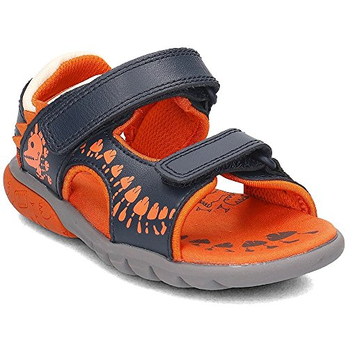CLARKS Rocco Surf - 26131678 - Color Orange-Navy Blue - Size: 11.5 by CLARKS