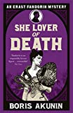 She Lover of Death by Boris Akunin front cover