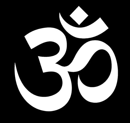 Pegatina de Vinilo para Ventana de Coche con símbolo de Om Hindu ...
