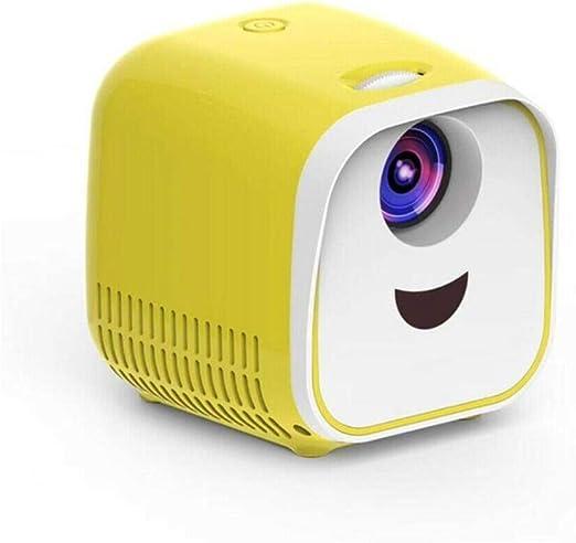 LinZX Mini proyector Portable proyector 1000Lumens crianza Mini ...