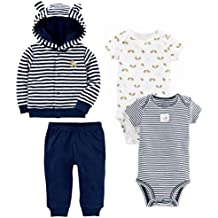 Simple Joys by Carter's Baby Boys' 4-Piece Terry Cardigan Set!