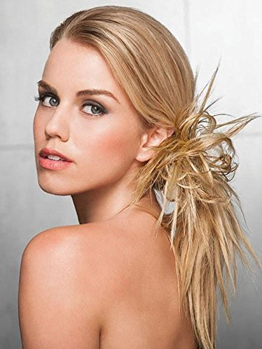 Spiky Clip Hair Wrap  Color R25 GINGER BLONDE - Hairdo Extensions Playful Spikey Hairpiece In Tru2Life Heat Friendly (Spikey Wig)