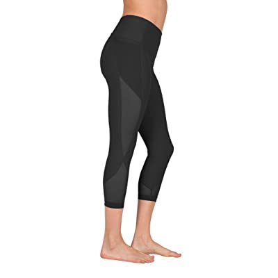 90 Degree By Reflex Women's High Waist Athletic Leggings With Smartphone Pocket - Black Black - Large