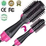 Volumizer Hair Dryer & Hot Air Brush & Curly Hair Comb 3 in 1...