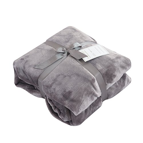 (Caitlin White Throw Blanket for Couch/Sofa/Bed,Luxury Super Soft Microplush)