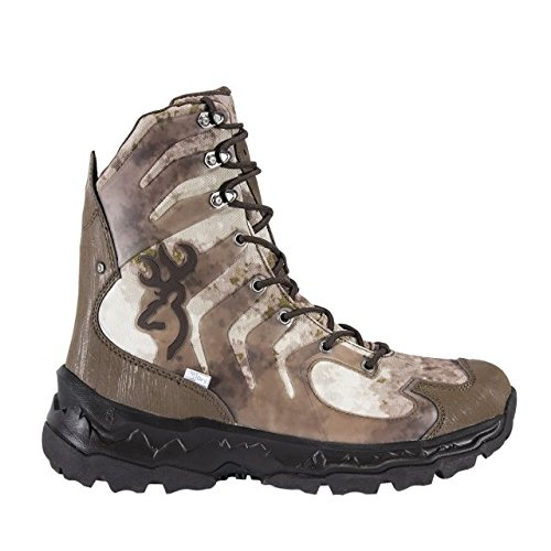 Browning Mens Buck Shadow 8in Big Game Boots, A-TACS FG/Bracken, 10M, F000003590432