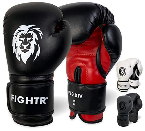 FIGHTR Boxing Gloves – Ideal Stability & Impact Strength | Punching Gloves for Boxing, MMA, Muay Thai, Kickboxing…