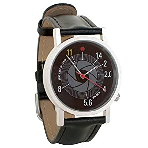F-Stop Photographer Gift Unisex Analog Water Resistant Novelty Gift Watch