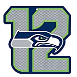 NFL Seattle Seahawks 12th Man Wood Sign, Multicolor