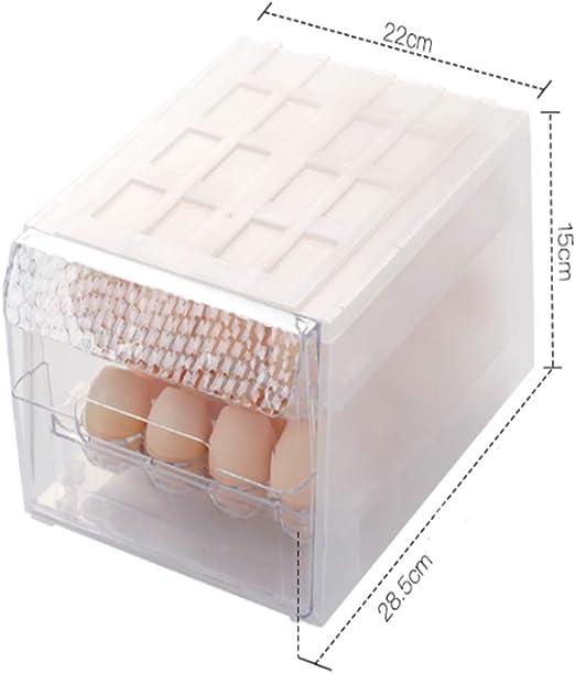 Caja Almacenamiento Frigorífico Almacenamiento Caja Huevo Cajón ...
