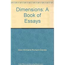 Dimensions: A Book of Essays