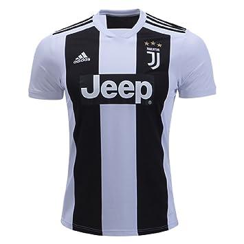Adidas Camiseta de fútbol Juvenil Juventus FC - F1806CHMU004, S, Negro