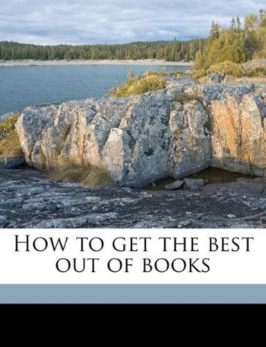How to get the best out of books pdf