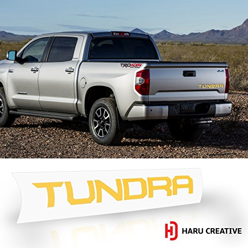 Gloss Purple Rear Trunk Tailgate Letter Insert Decal Compatible with and Fits Toyota Tacoma 2016 2017 2018 2019 Haru Creative