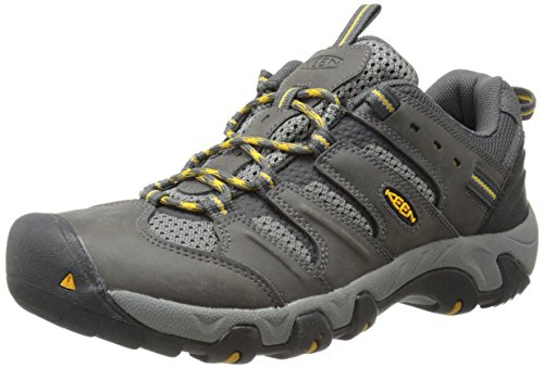 KEEN Men's Koven Hiking Shoe, Magnet/Gargoyle, 13 M US