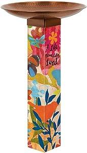 Studio M BB1008 Sentimental Journey Bird Bath Art Pole, 0