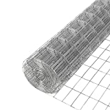 YARDGARD 309221A 1 Inch by 2 Inch Mesh, 24 Inch by 25 Foot 14 Gauge Galvanized Welded Wire Fence