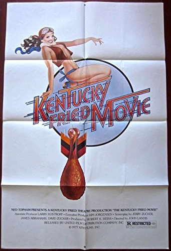 - KENTUCKY FRIED MOVIE - ORIGINAL 1977 ONE SHEET POSTER - FUNNY CHICKEN WING BOMB