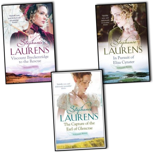 Stephanie Laurens Bar Cynster 3 Books Collection Pack - Capture Of The Earl Of Glencrae