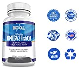 OMEGA 3 FISH OIL with EPA/DHA 1000mg – No Fishy After Taste Fish Oil Omega 3 – Supports Heart Health, Brain, Eyes, Joints & Immunity for Men & Women Review