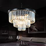 Meelighting 8 Lights Modern Contemporary Crystal
