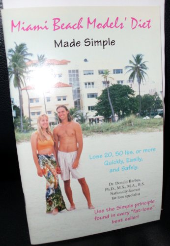 Miami Beach models' diet: Made simple