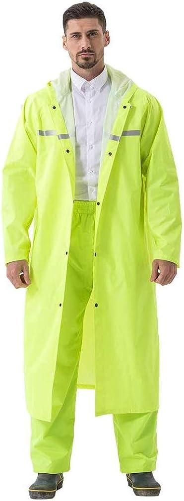 Rain Coats for Adults Rain Ponchos with Hoods Man Lightweight Raincoats Long Waterproof Jacket Windbreaker for Men Women