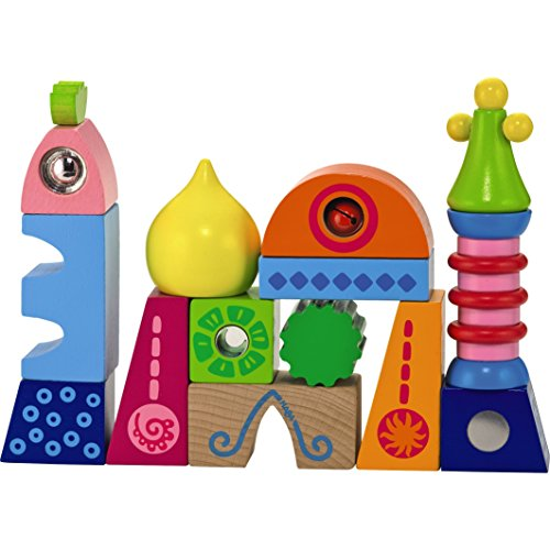 HABA World of Play Palace - 14 Unique and Whimsical Blocks for Ages 18 Months and Up