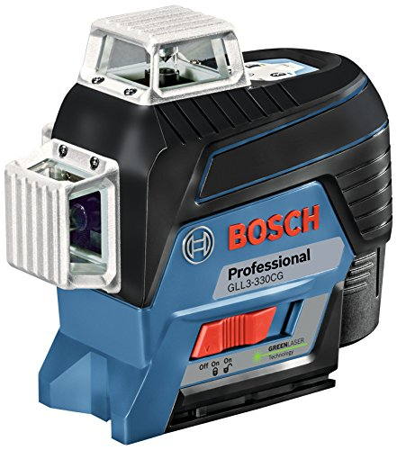 Bosch 12V 360 Connected Three-Plane Leveling and Alignment-Line Laser GLL3-330CG