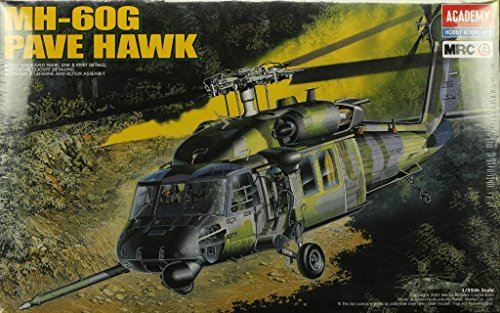 Mh 60 Pave Hawk (Academy MRC 1:35 MH-60G Pave Hawk Helicopter Plastic Model Kit #2201)