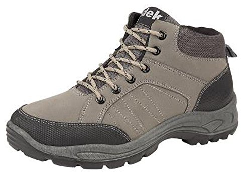 Dek Mens Walking Hiking Boots Grey