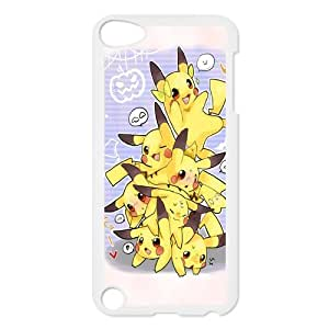 Custom Pikachu Back Cover Case for ipod Touch 5 JNIPOD5-163