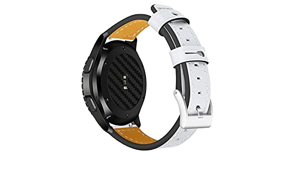 Amazon.com: Jewh Universal Genuine Leather Strap for Samsung Gear S3 - Classic/S3 Frontier/Moto 360 2-46mm/Asus ZenWatch 2/LG Watch W100 Band - LG Watch ...