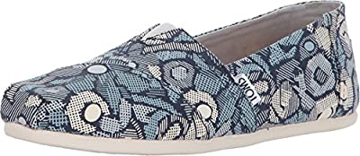 TOMS Women's Classics Frost Floral Camo Loafer