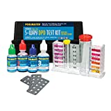 Poolmaster 22272 5-Way Test Kit with DPD Tablets and Case - Premier Collection