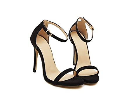 c9aef16b96f Amazon.com: LIANGXIE Ladies Fine Superb High Heel-Fashion Hollow ...