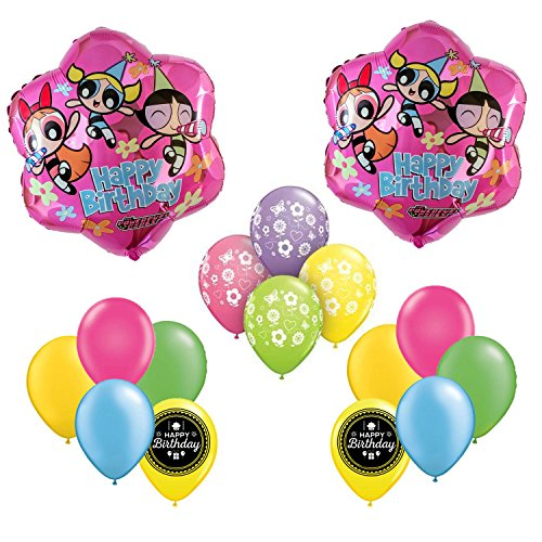 The Powerpuff Girls Birthday Party Balloons Supplies and Decorations