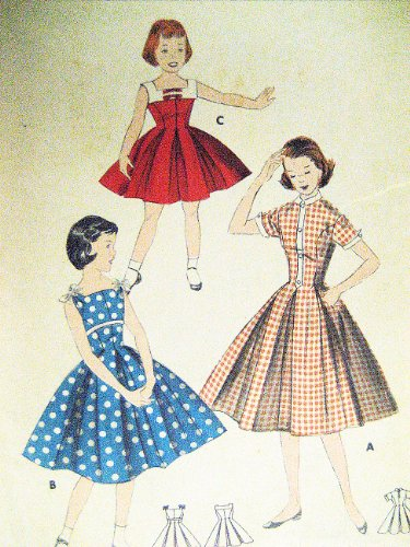 50s style dress sewing patterns - 5