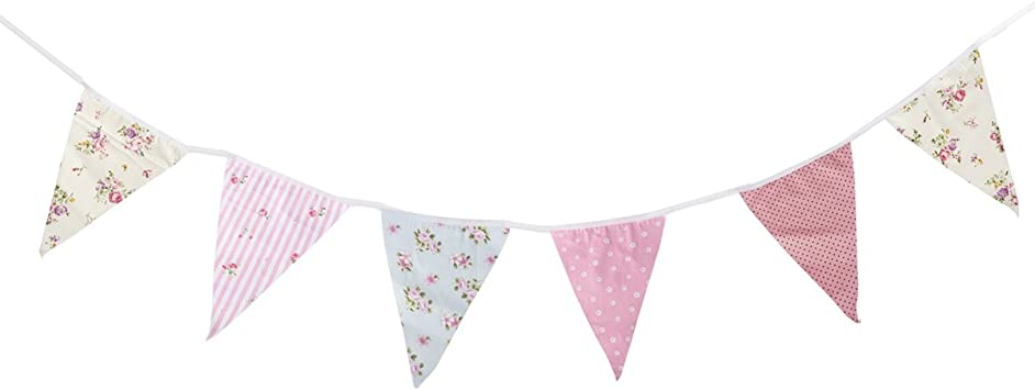 Floral  Bunting//banner decoration Birthday Wedding Party