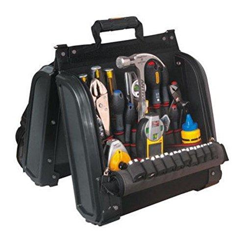 Stanley FatMax tragbarer Werkzeugorganizer 1-94-231 Werkzeugkoffer 44x39x25cm, Satteltaschen-Design f/ür optimale /Übersichtlichkeit, ergonomisches Design, gepolsteter Tragegurt