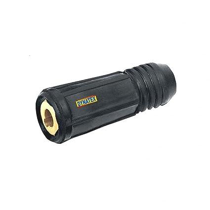 Dinse / Dinze Conector de Cable Soldadura Enchufe 70-95mm Sk Soldador Hembra Medidor Nuevo