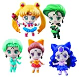 Megahouse Pretty Soldier Sailor Moon Petit Chara! Ayakashi vs. Sailor Moon Deluxe Set