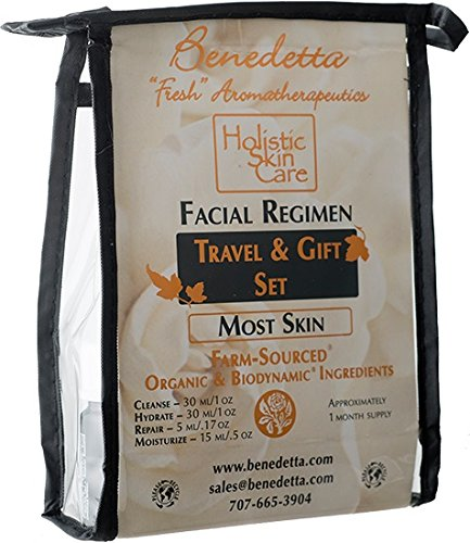 Facial Regimen Travel & Gift Set - Rosemary Verbenone - For Most Skin