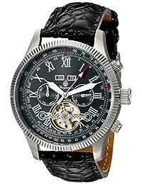 Burgmeister Men's BM330-122 Analog Display Automatic Self Wind Black Watch