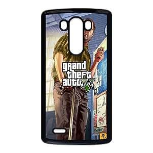 LG G3 Cell Phone Case Black GTA 5 Lester Vyugv