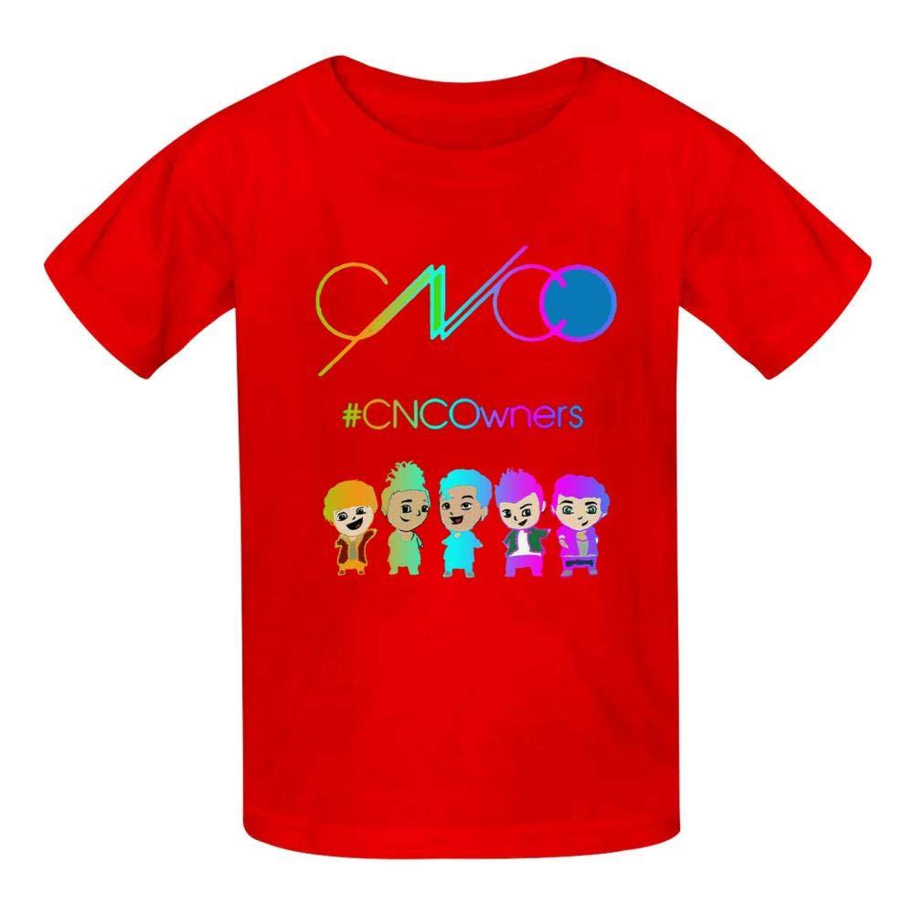 ifufuhech CN-CO Camisetas Infantiles de algod/ón para ni/ños y ni/ñas