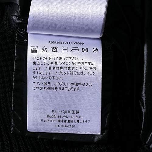 フーデッド ニットダウンジャケット 9B50110 ブラック CARDIGAN [並行輸入品]